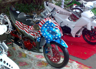 suzuki satria MODIFICATION
