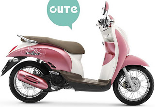 honda-scoopy purple