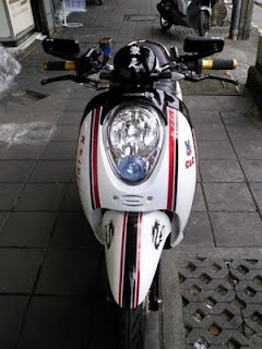 honda scoopy modification spec 3