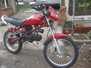 Honda GL WIN Modification Trail