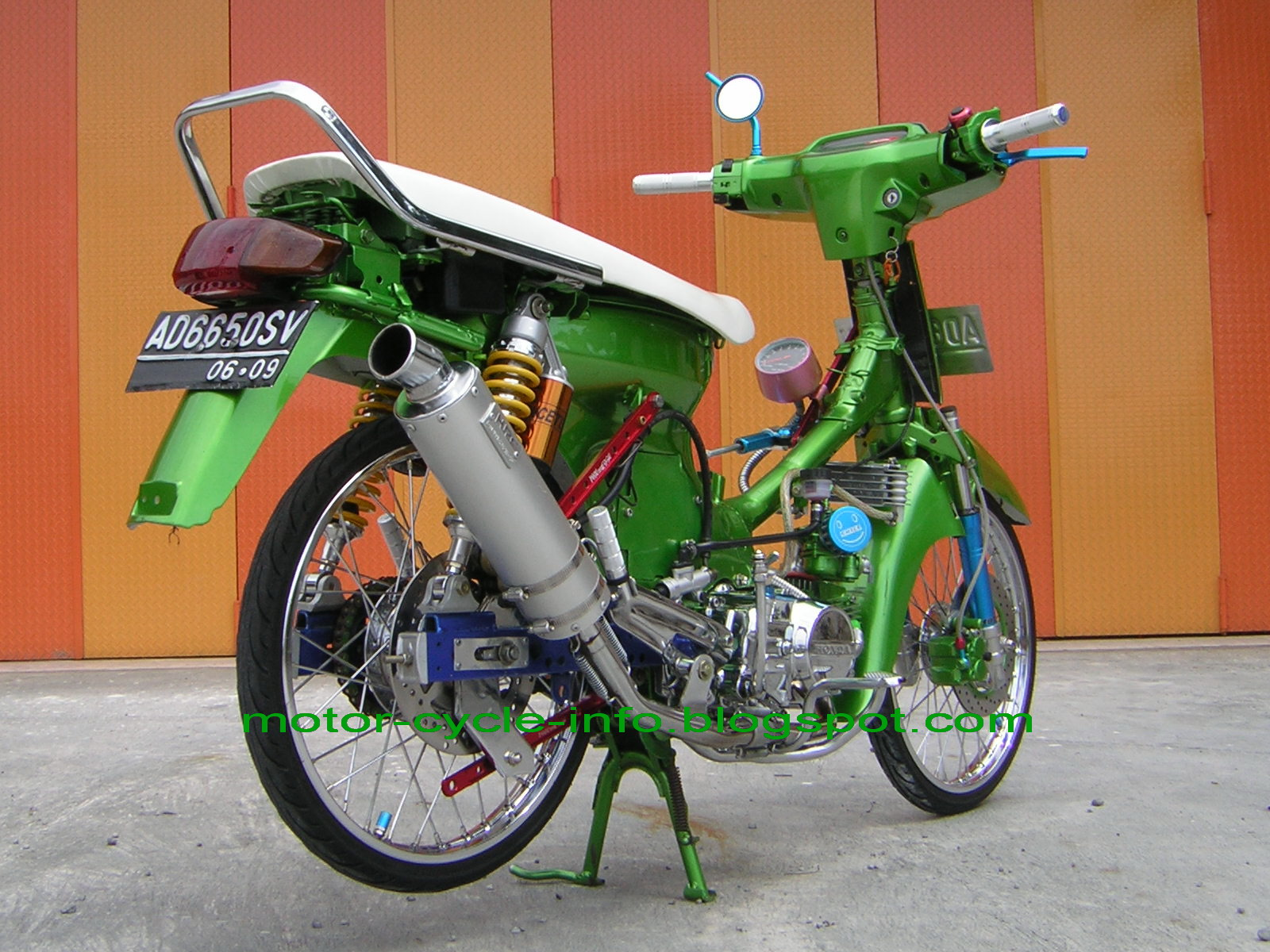 modification honda grand airbrush picture. title=