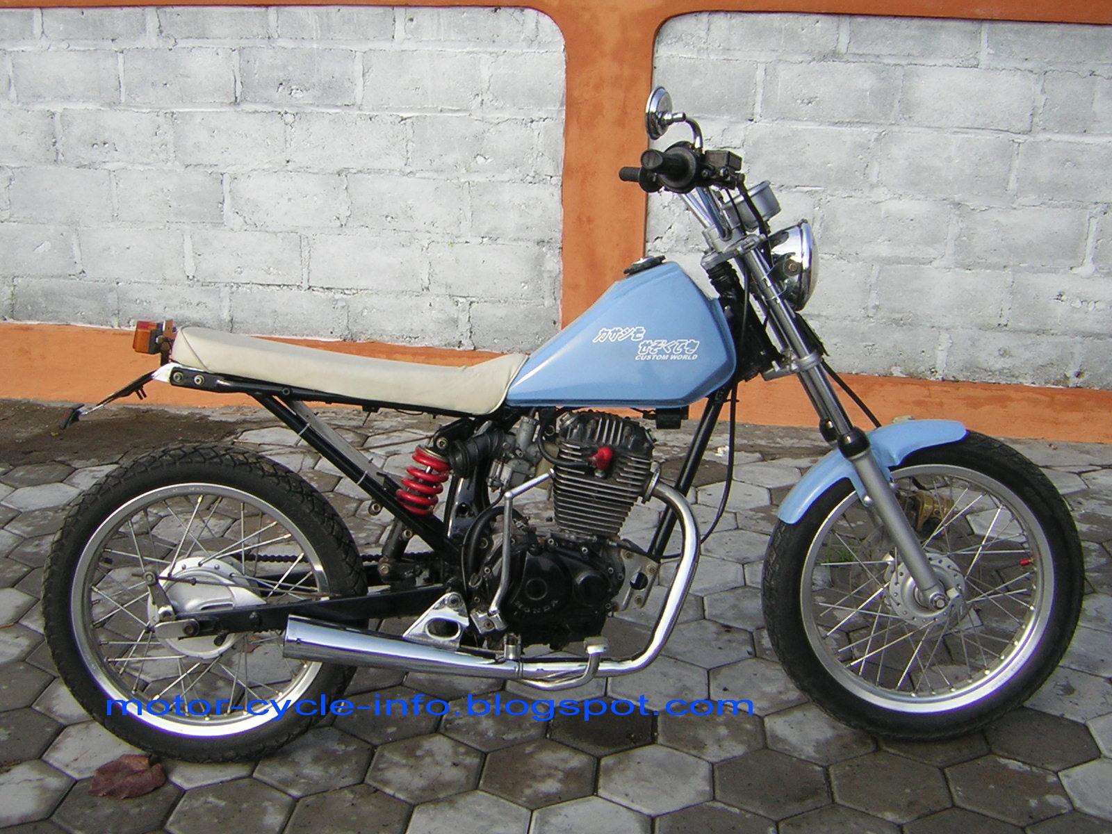 autos motorcycles: modification honda gl extreme