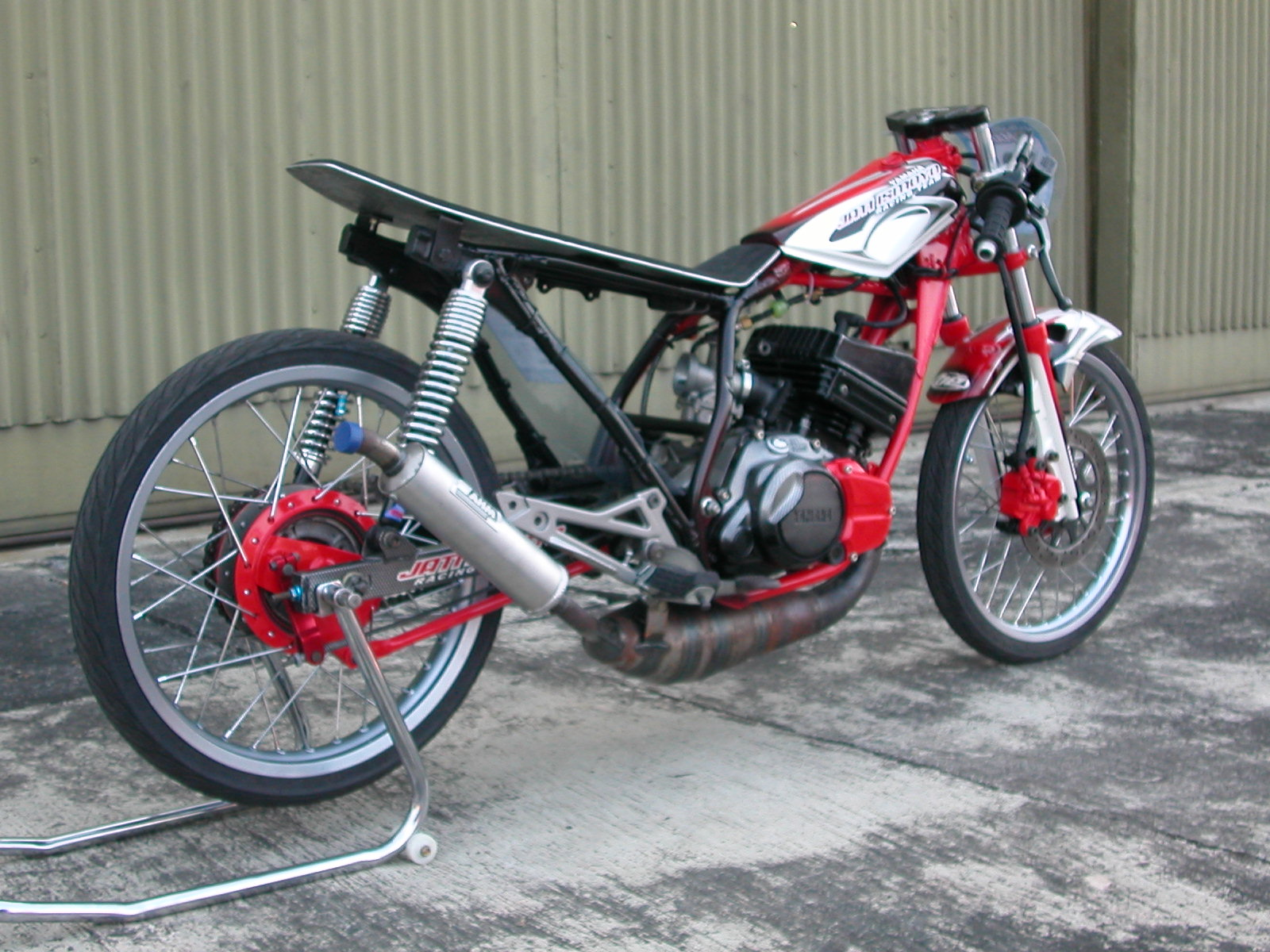 modifikasi motor rxz drag extreme