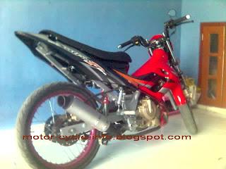 foto modifikasi motor satria FU