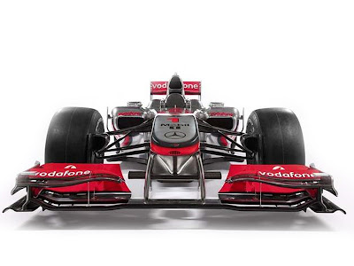 2010 Modern MP4-25 McLaren Formula One Car