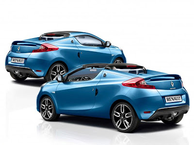 Modern ReDesign Renault Wind Coupe Roadster 2011