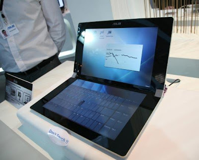 Asus K Series Notebooks With Unique Dual Panel Touchscreen
