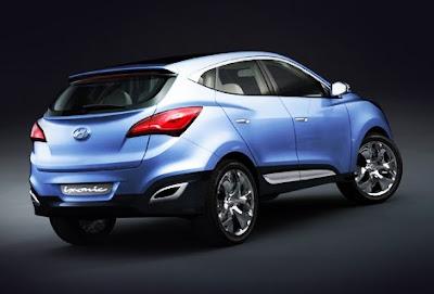 Luxury Car Hyundai iX-Onic Concept Car
