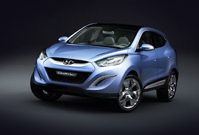 Luxury Car Hyundai iX-Onic Concept Car