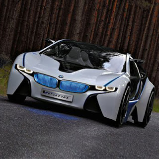 New Vision EfficientDynamics BMW Concept Car
