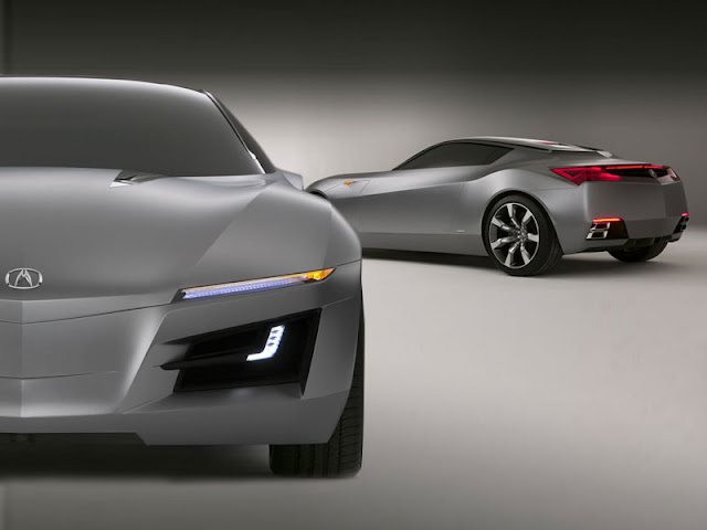Acura Advanced Sports Car Concept (ASCC ) Created To Take Exotic Sports Car  Styling To A New Level