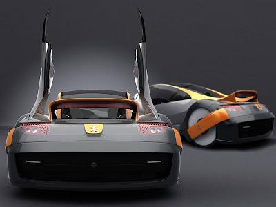 Leonin Hybrid Peugeot Concept Wallpaper
