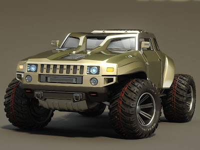 This Hummer HB concept car