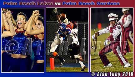 Alan Luby Photography Palm Beach Lakes Vs Palm Beach Gardens High School Football 2010