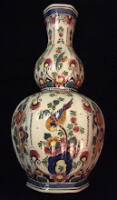 Large Velsen polychrome jar