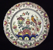 Velsen polychrome wall plate