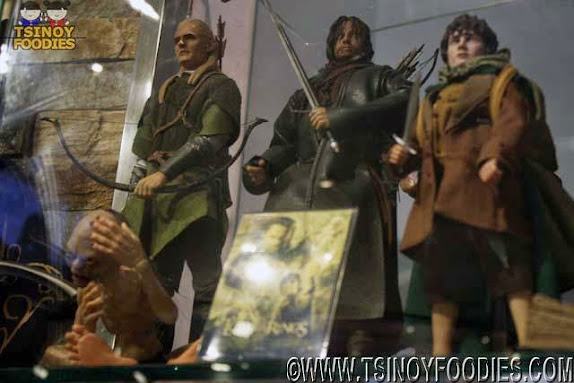 lord of the rings toy collection