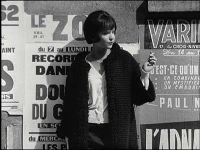 "The release this week of Godard's 1963 uber-artsy Vivre sa Vie (""My Life to"