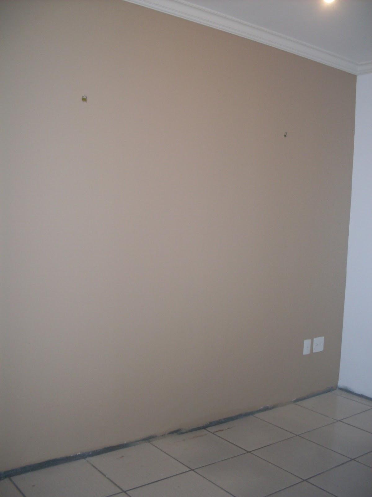 Sala De Estar Na Cor Camurca ~ parede do home foi pintado de cor camurça, Suvinil Lindo demais!