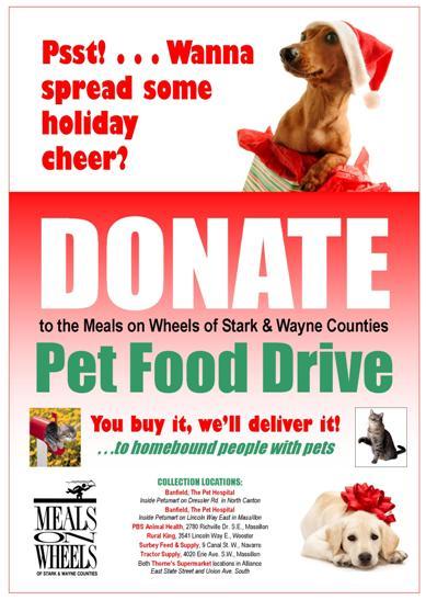 Meals On Wheels Of Stark Amp Wayne Counties Our Annual Pet