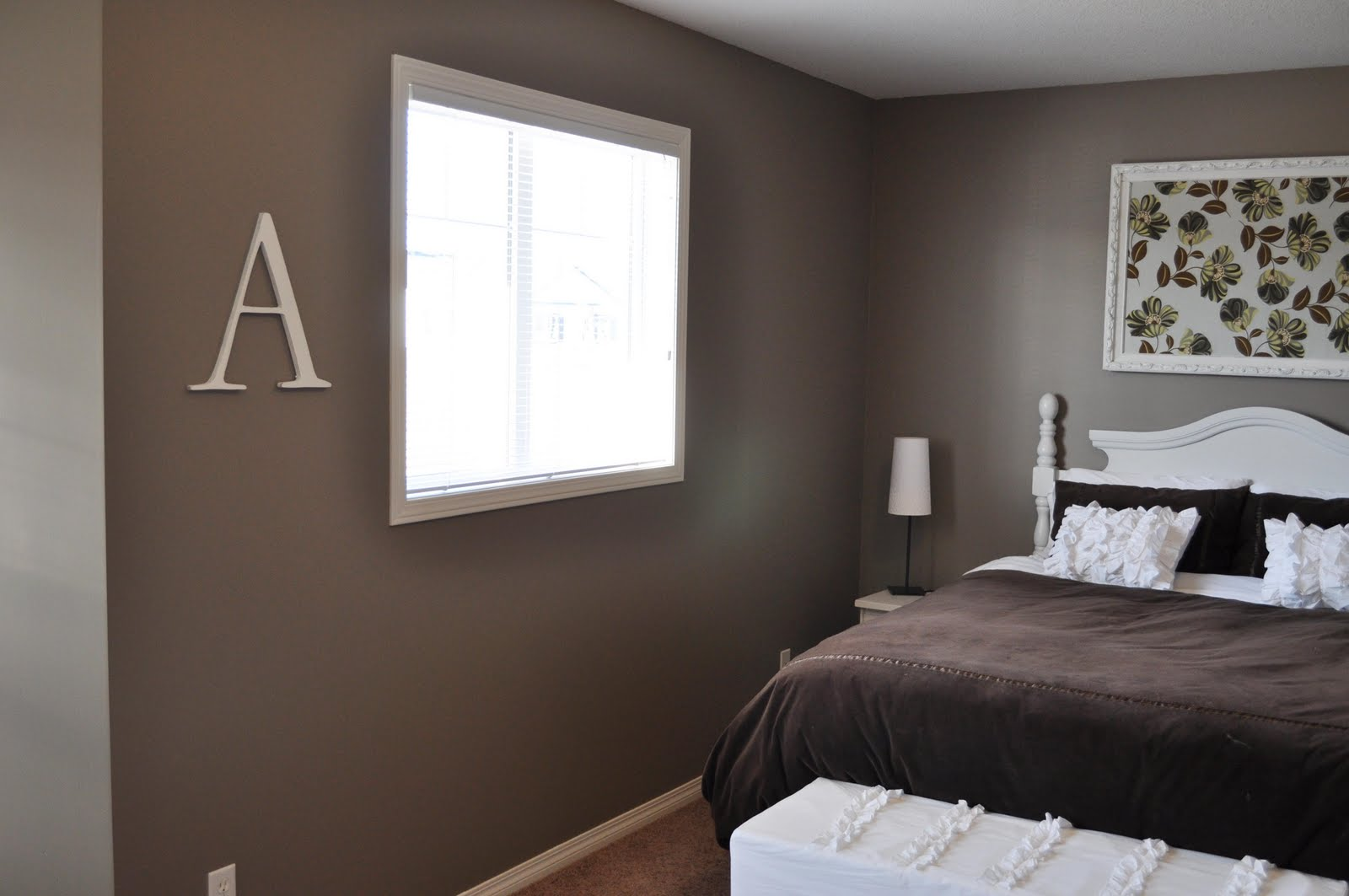 Remodelaholic Master Bedroom Repainted And Decorated