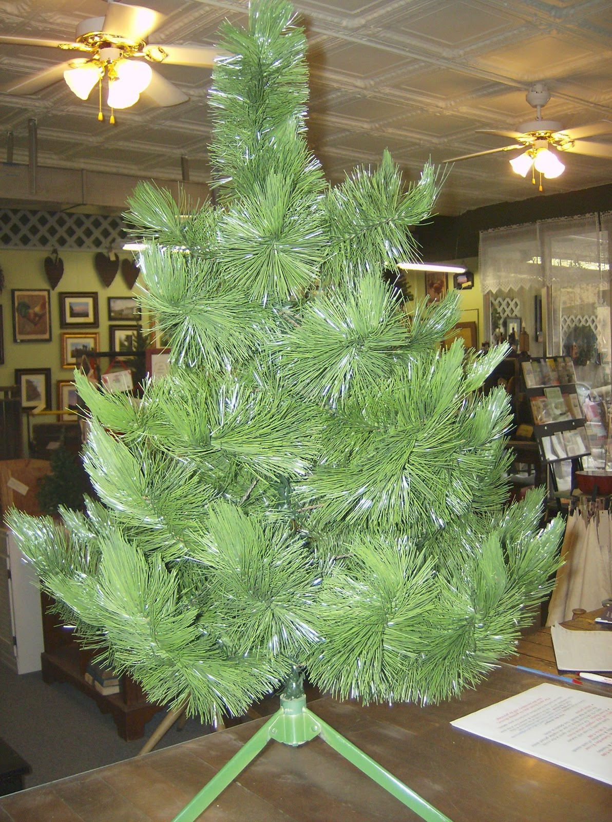 Country Lane Crafts Antiques Vintage Christmas Tree