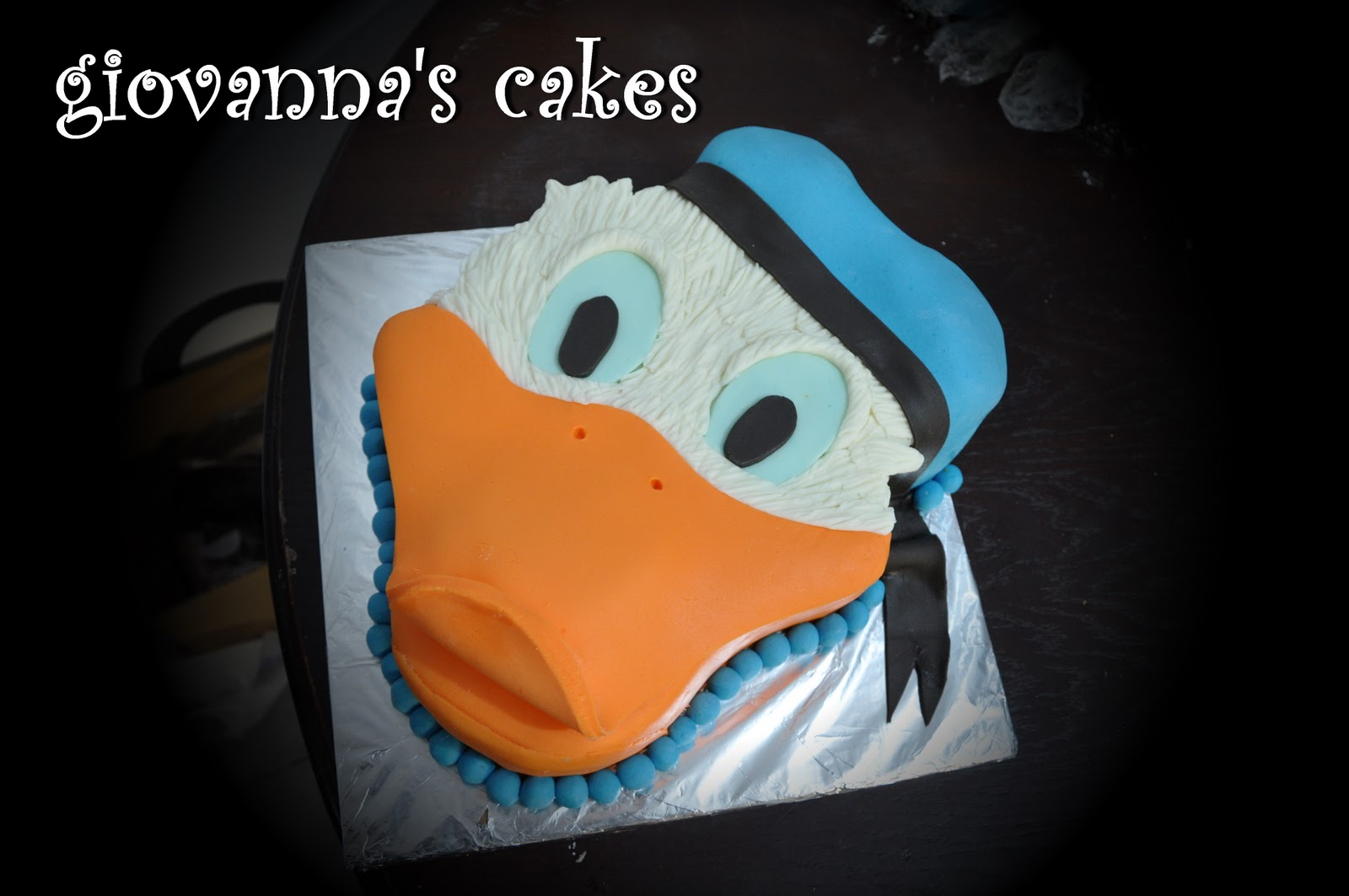 Giovannas Cakes Donald Duck Cake