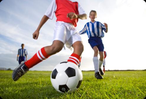 Imagen niños jugando futbol - Imagui
