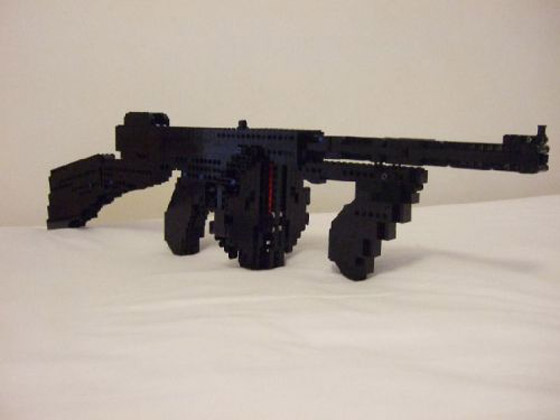 how to make lego weapons that work