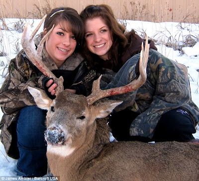Teenage Sisters Who Love Shooting Rare Wild Animal Seen On  www.coolpicturegallery.net
