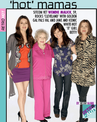 """hot in cleveland"" star Wendie Malick interview"