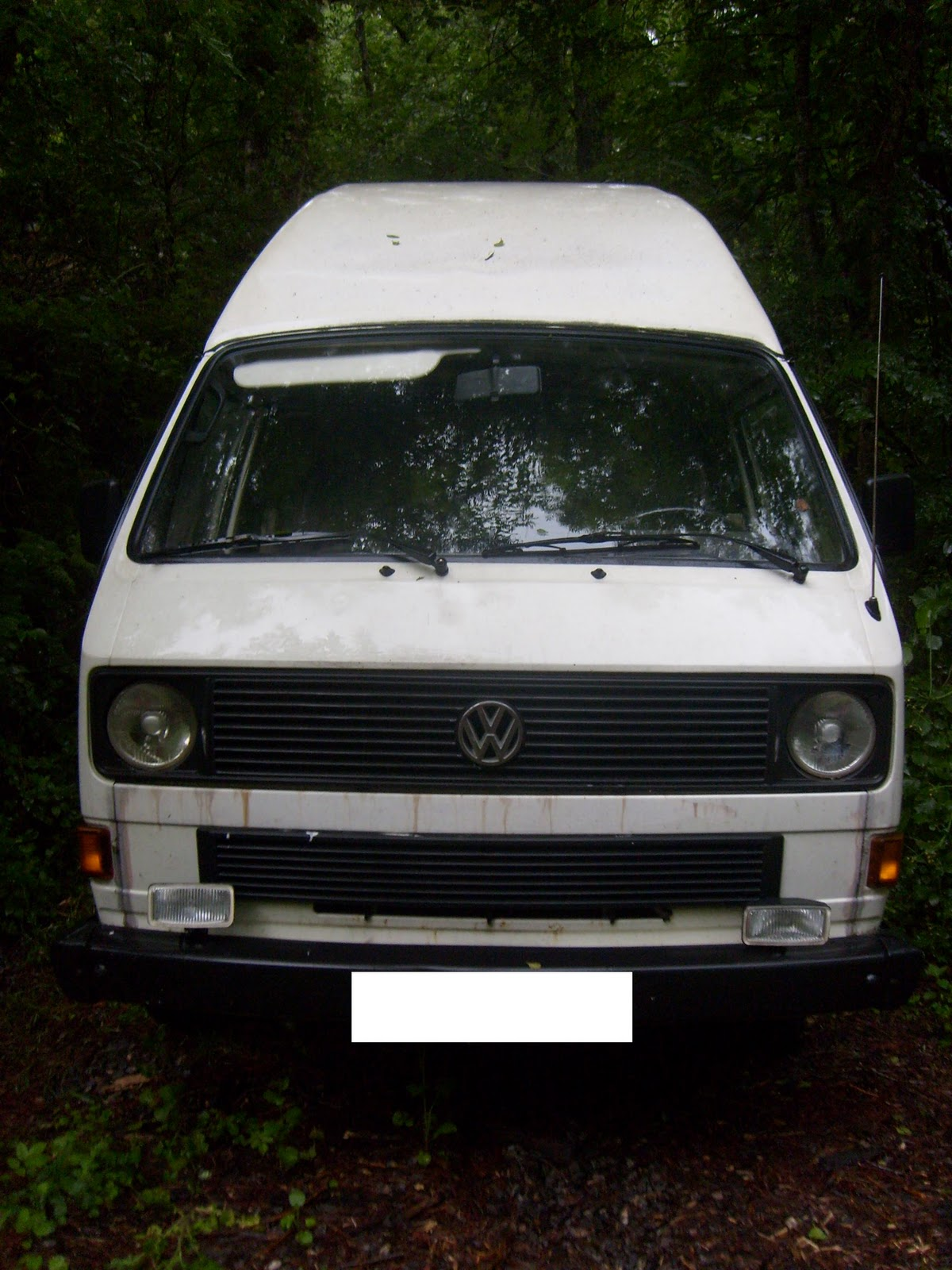 Furgoneta vw t3 camper old school for Vendo furgoneta camper