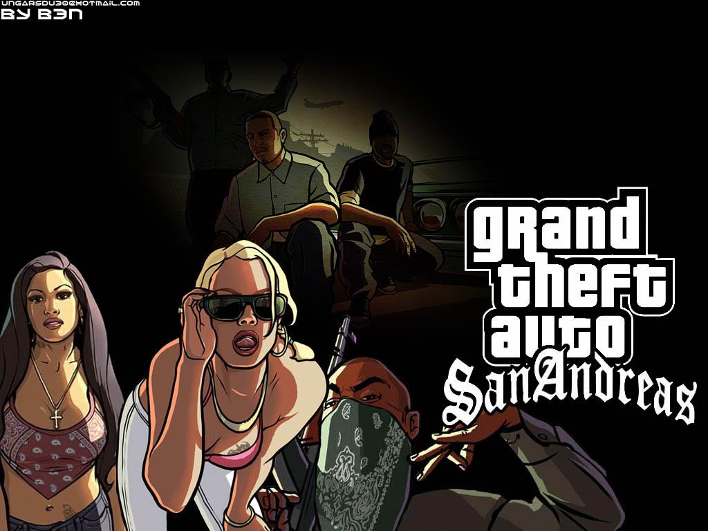 GTA San Andreas Full Iso 1 link + Yapa