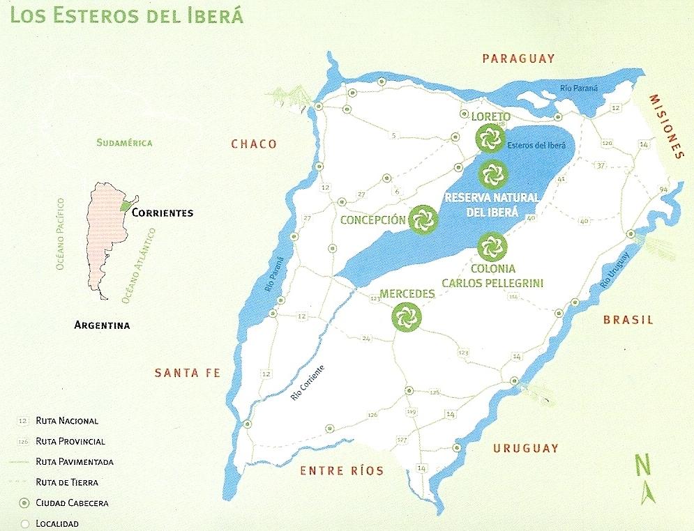 esteros ibera corriente argentina: