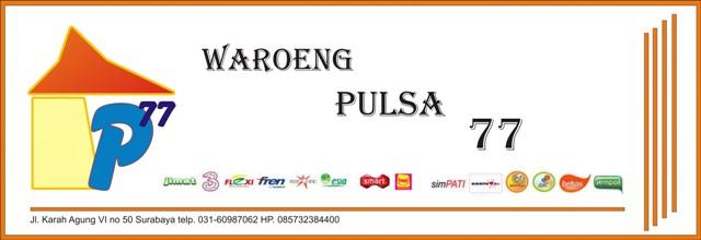 Waroeng Pulsa 77