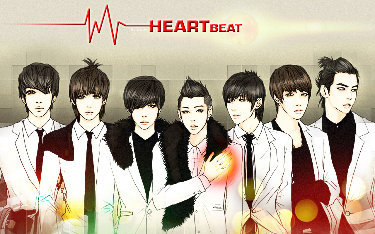 2pm Heartbeat Wallpaper 2pm heartbeat wallpaper
