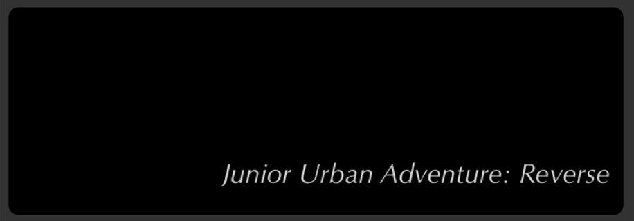 Junior Urban Adventure