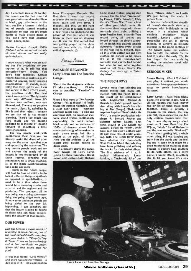 The history of acid house may 2010 for Acid house history
