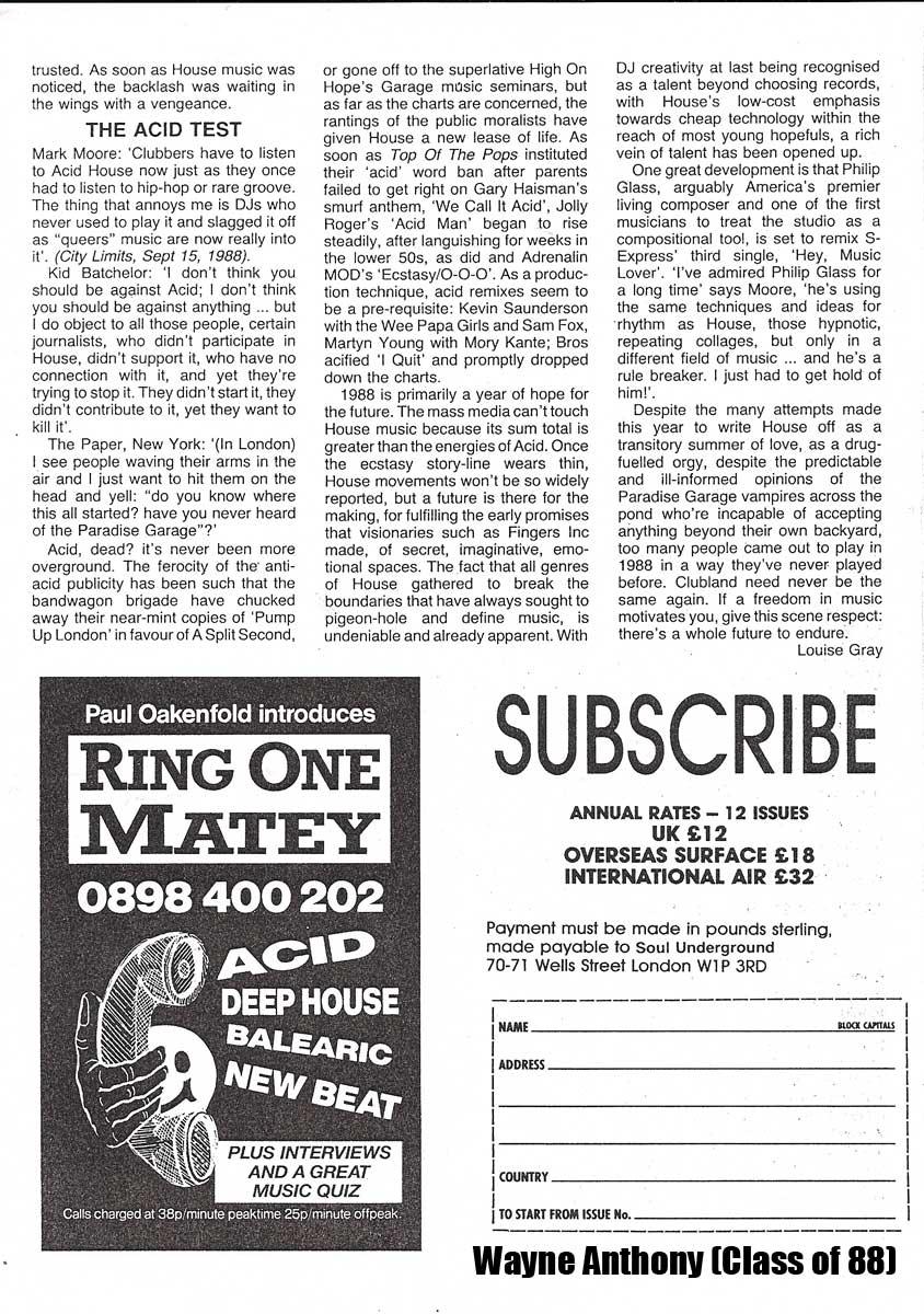 The history of acid house soul underground 1989 acid for Acid house history