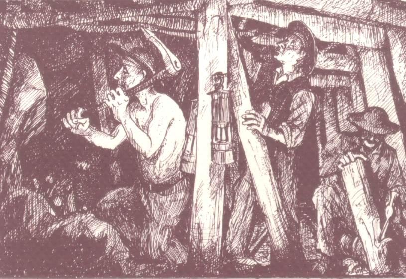 el trabajo minero en la colonia y en la actualidad: