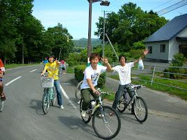 Biking in Hokkaido
