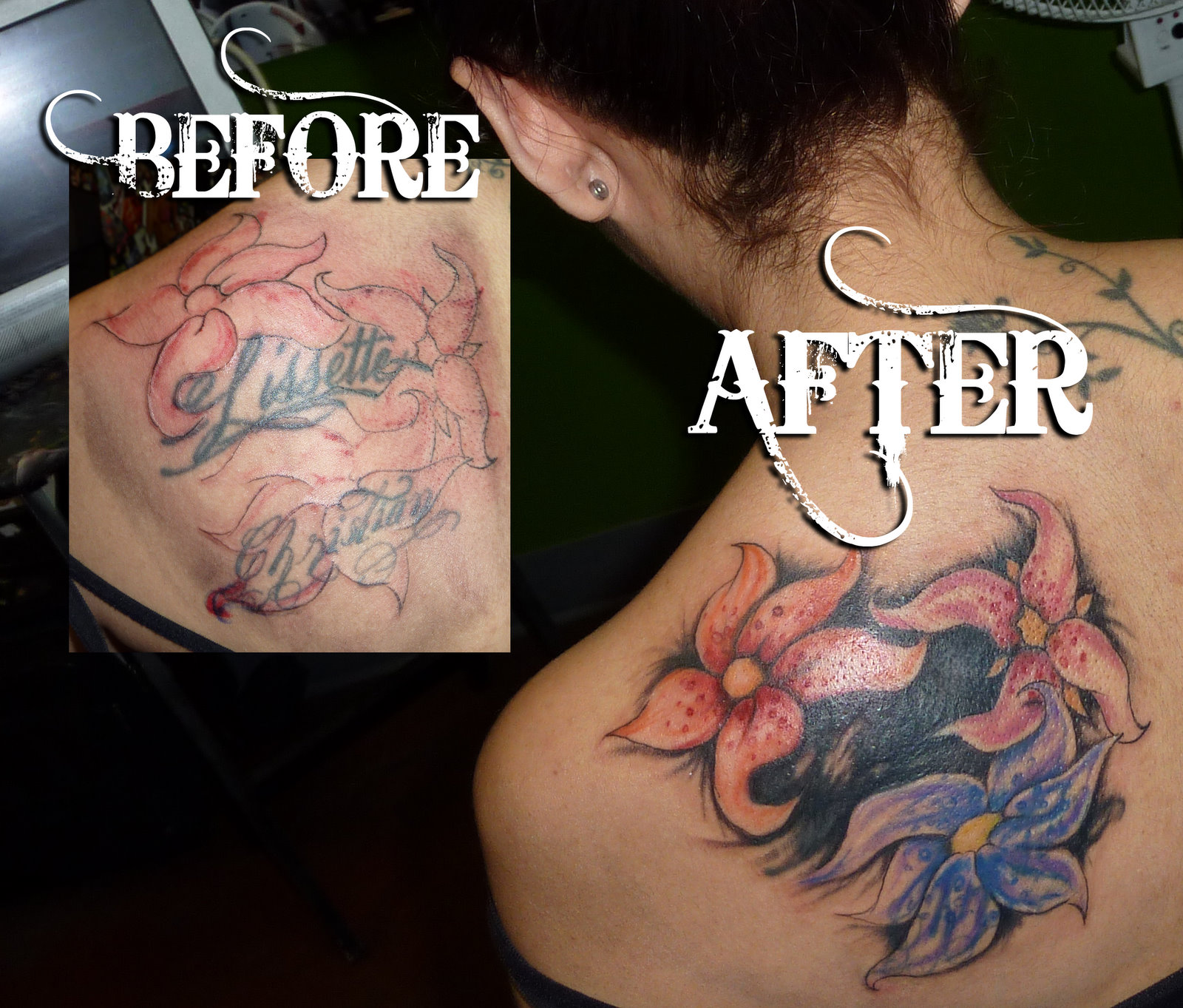12 funniest cover up tattoos cover up tattoos cover up for Dermablend tattoo cover up video