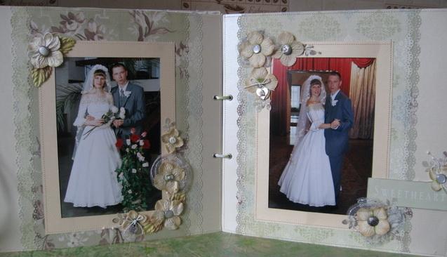 Скрапбукинг свадебный альбом своими руками фото