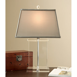 Cheap Crystal Table Lamps On Crystal Lamps This Rectangular Column Lamp Is  Pretty And Would Look