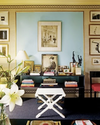 Matters of Style: DIY Living Room Wall Inspired By Albert Hadley