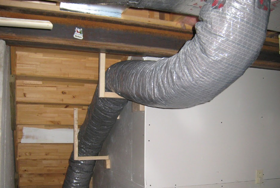 The basement hvac and bouncy steps for 12x6 floor register