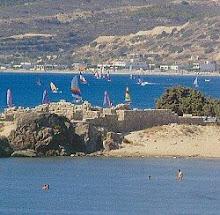 Het strand van Kos