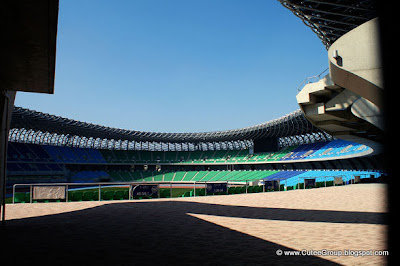 WORLD'S FIRST SOLAR POWERED STADIUM IN TAIWAN