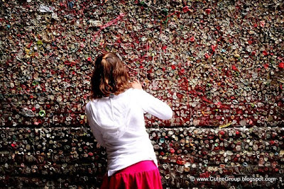 The Seattle Bubble Gum Wall