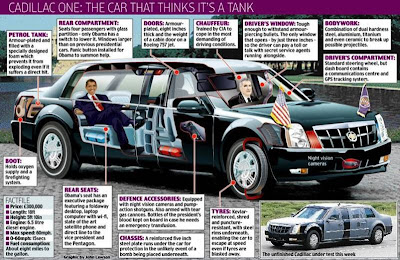 Obama's Amazing Presidential Car